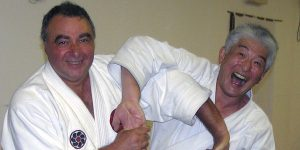 Seminario della Mid Sussex Martial Arts School con il sensei Hirohaki Izumi
